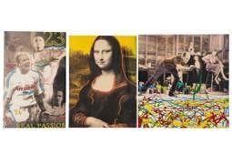 STEVE KAUFMAN (1960-2010): THREE WORKS