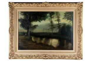 BEN AUSTRIAN (1870 - 1921): LANDSCAPE