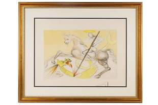 "AFTER SALVADOR DALI: ""ST. GEORGES ET LE DRAGON"""