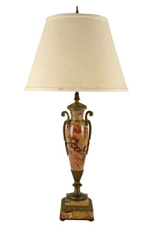 FRENCH STYLE URN FORM TABLE LAMP