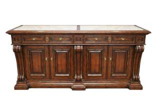 MARGE CARSON STONE INSET SIDEBOARD