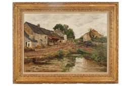 """EDMOND MARIE PETITJEAN (1844 - 1925): """"NORMANDIE"""""""