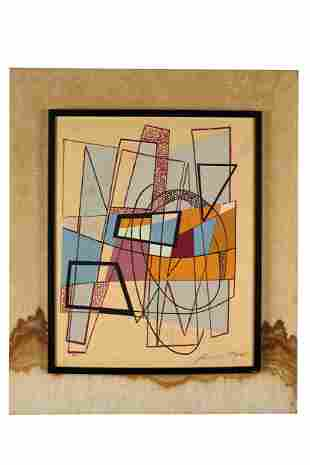 ANDRE BLOC (1896-1966): ABSTRACT