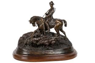 """PIERRE JULES MENE (1810 - 1879): """"LOUIS XV VALET DE"""