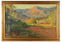 ARTHUR HAZARD (1872-1930): MOUNTAIN LANDSCAPE