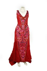 CAROL CHANNING AS DOLLY LEVI: COSTUME DRESS FROM
