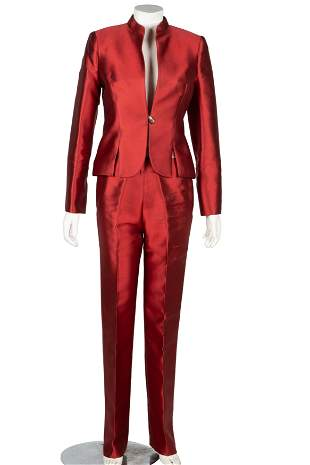 CAROL CHANNING HYLAN BOOKER COUTURE PANT SUIT