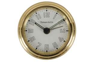 CAROL CHANNING TIFFANY & CO. DESK CLOCK