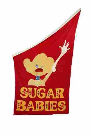 "CAROL CHANNING ""SUGAR BABIES"" THEATER FLAG"