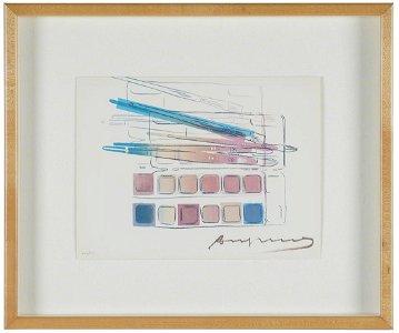 "ANDY WARHOL (1928 - 1987): ""PAINT KIT"""