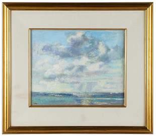 MARION PIKE (1913 - 1998): SEASCAPE