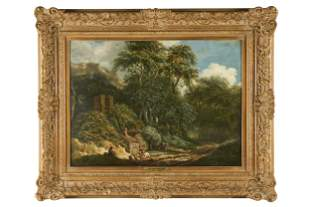 ATTRIBUTED TO JOHN CROME (1769 - 1821): LANDSCAPE