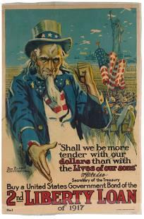 DAN SAYRE GROESBECK (1878 - 1950): LIBERTY LOAN BOND