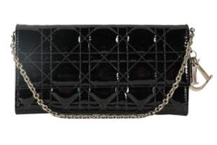 DIOR: PATENT LEATHER WALLET