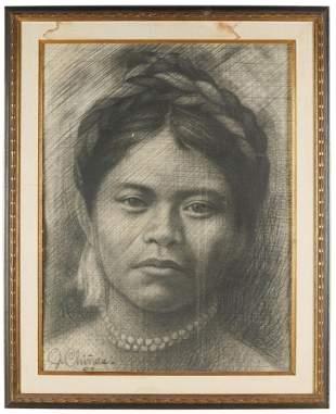 """JOAQUIN CHINAS (B. 1924): """"TIJUANA"""""""