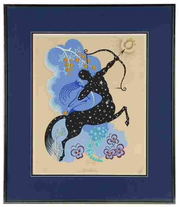 "ERTE (1892 - 1990): ""SAGITTARIUS"""