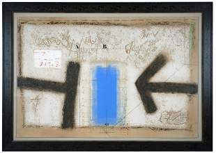 JAMES COIGNARD (1925 - 2008): ABSTRACT