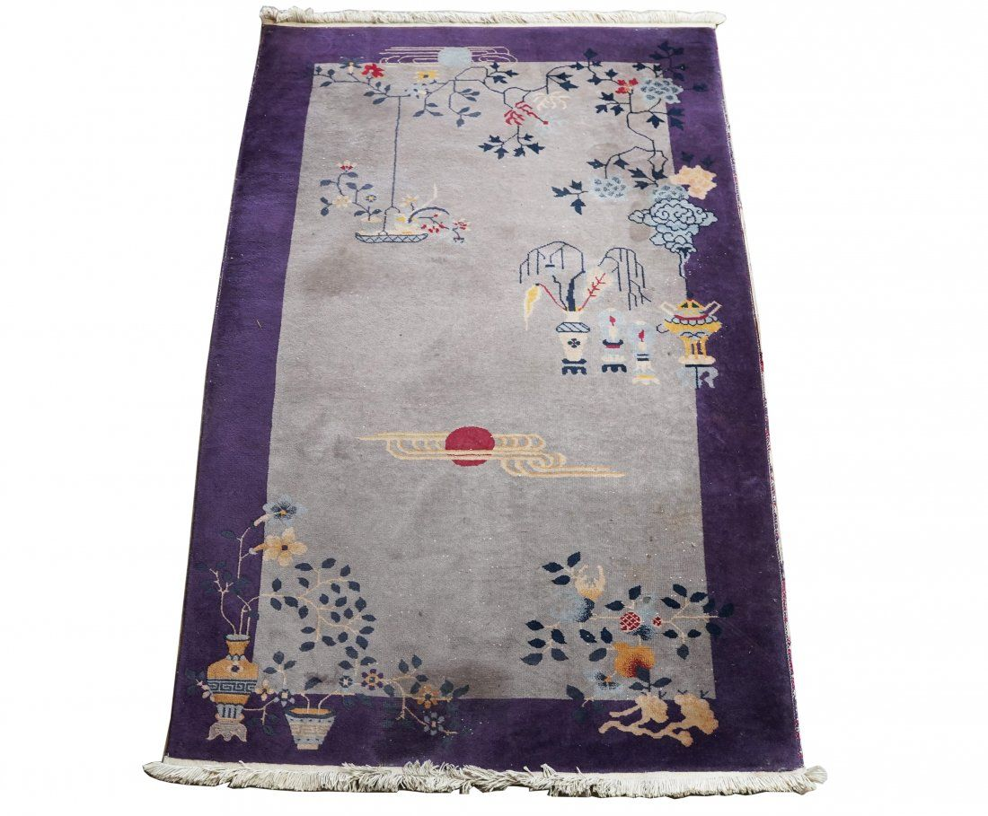 CHINESE ART DECO-STYLE RUG