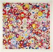 """TAKASHI MURAKAMI (B. 1962): """"FLOWERS WITH SMILEY FACES"""""""