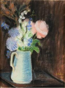 SUZANNE VALADON (1865-1938): BOUQUET DE FLEURS