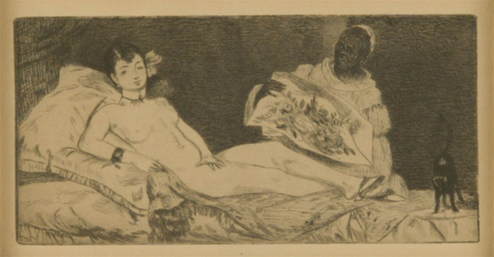 """EDOUARD MANET (1832 - 1883): """"OLYMPIA"""""""