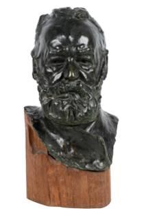 "AUGUSTE RODIN (1840 - 1917): ""VICTOR HUGO"""