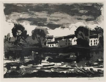 "MAURICE DE VLAMINCK (1876 - 1958): ""L'OISE A SERGY"