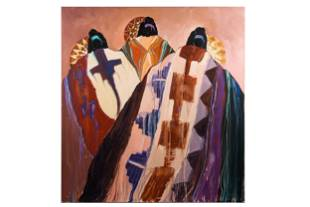 DOLONA ROBERTS (B. 1936): THREE WOMEN