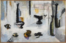 JEAN-MARIE CALMETTES: UNTITLED ABSTRACT