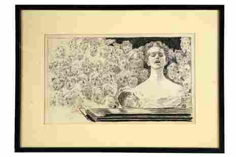CHARLES DANA GIBSON (1867 - 1944): FACES