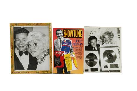 CAROL CHANNING SIGNED JERRY HERMAN BOOK & PHOTOS