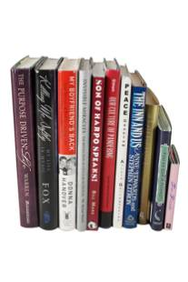 CAROL CHANNING GROUP OF BOOKS SIGNED TO HER & HARRY