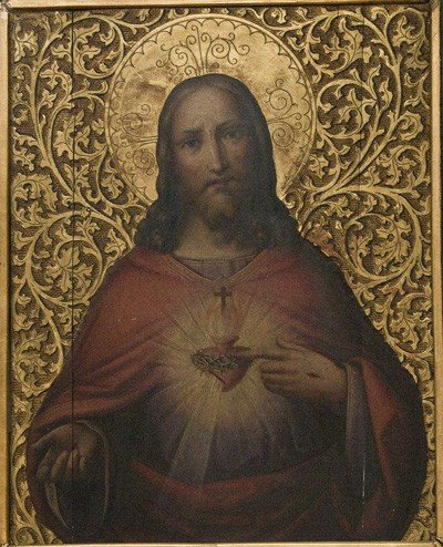 9: PORTRAIT OF CHRIST AS THE SACRED HEART