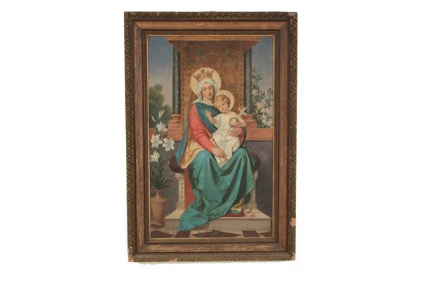 22: THE VIRGIN MARY AND THE CHRIST CHILD