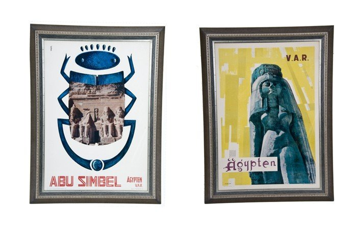 16: TWO EGYPTIAN TRAVEL POSTERS