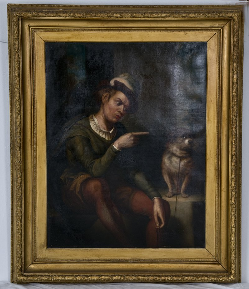 4: PORTRAIT OF A GENTLEMAN AND DOG