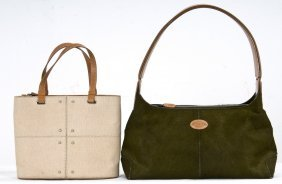TWO TOD'S HANDBAGS