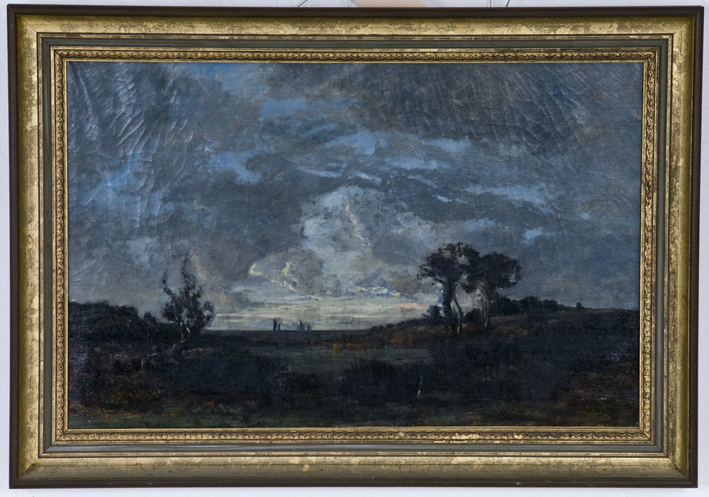 BARBIZON MOONLIT LANDSCAPE