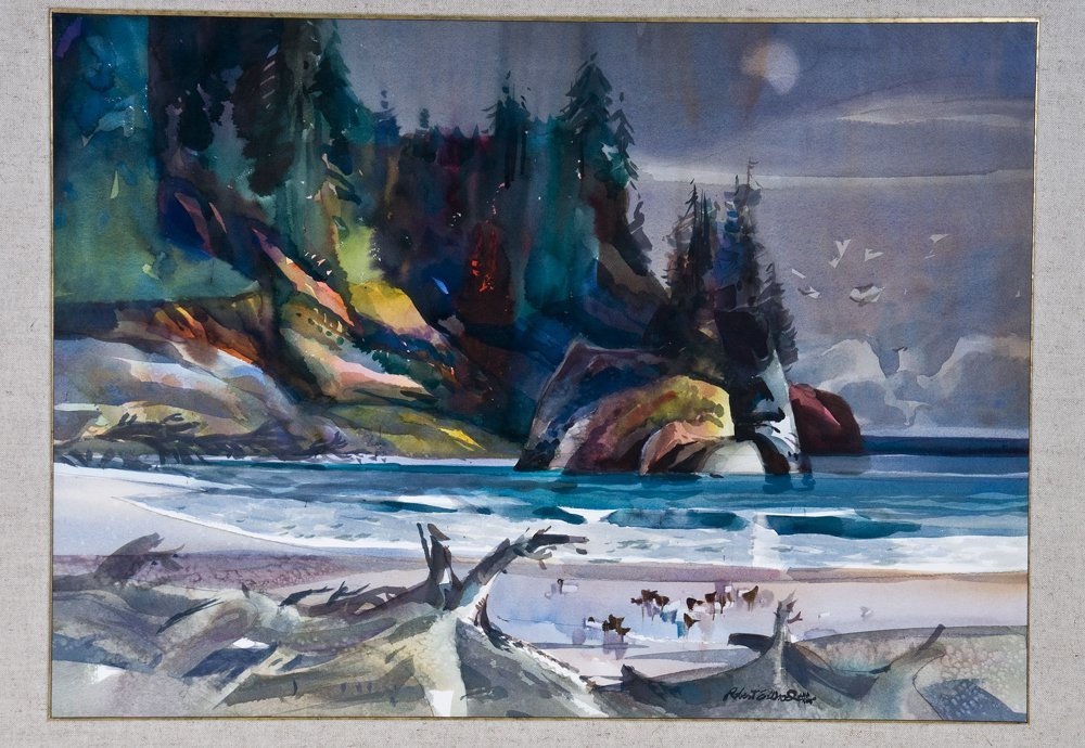 "ROBERT WOOD: ""COASTAL SCENE"""