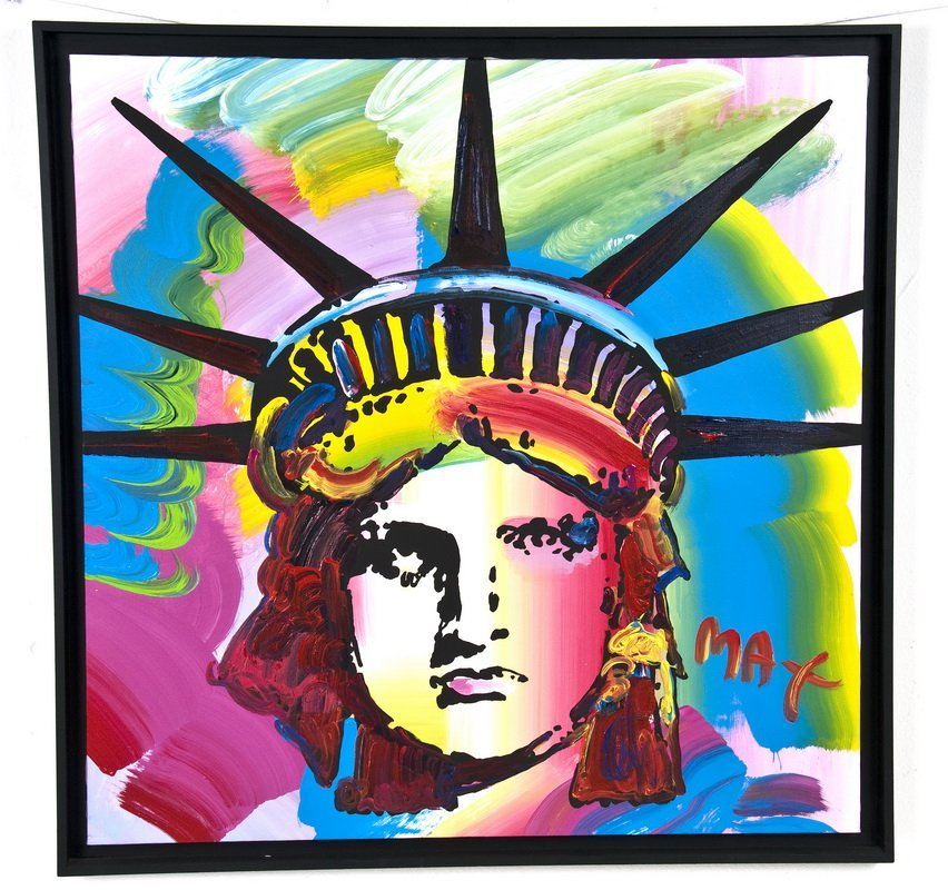 "PETER MAX: ""STATUE OF LIBERTY"""