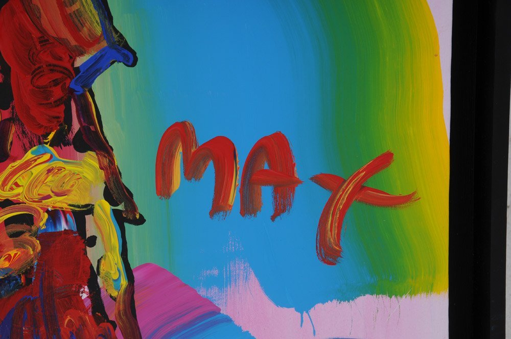 "PETER MAX: ""STATUE OF LIBERTY"" - 2"