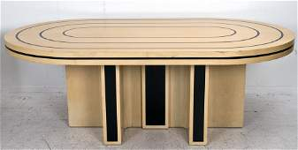 """TOMMI PARZINGER """"RACE TRACK"""" DINING TABLE"""