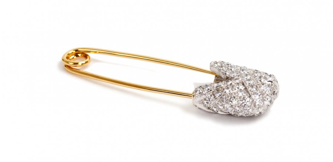 DAVID WEBB: 18 KARAT GOLD, PLATINUM, & DIAMOND SAFETY