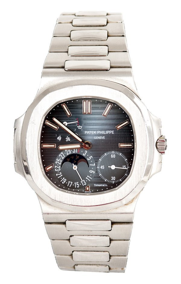 """PATEK PHILIPPE FOR TIFFANY & CO. STAINLESS """"NAUTILUS"""""""