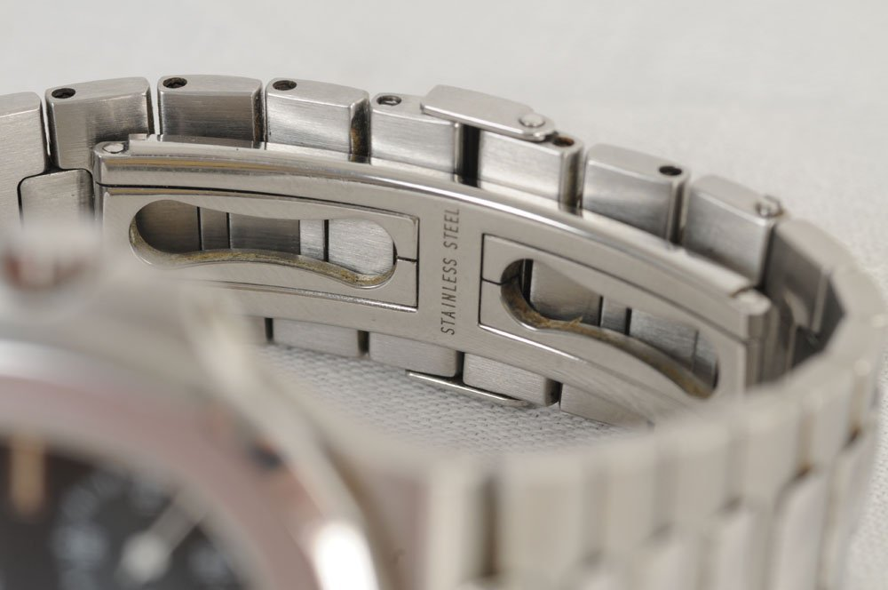 """PATEK PHILIPPE FOR TIFFANY & CO. STAINLESS """"NAUTILUS"""" - 3"""