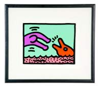 "KEITH HARING: ""POP SHOP V: PLATE 1"""