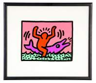 KEITH HARING POP SHOP V PLATE 2