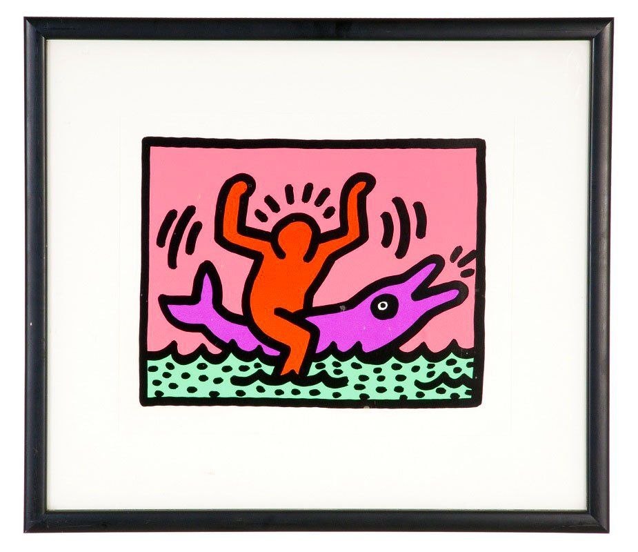 "KEITH HARING: ""POP SHOP V: PLATE 2"""