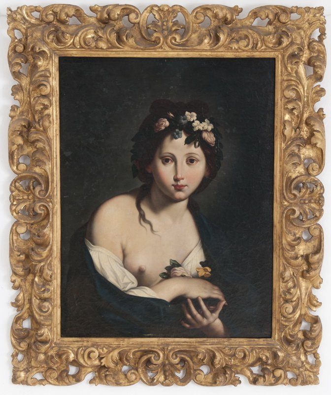 """AFTER CARLO CIGNANI: """"YOUNG WOMAN IN DIAPHANOUS DRESS"""""""