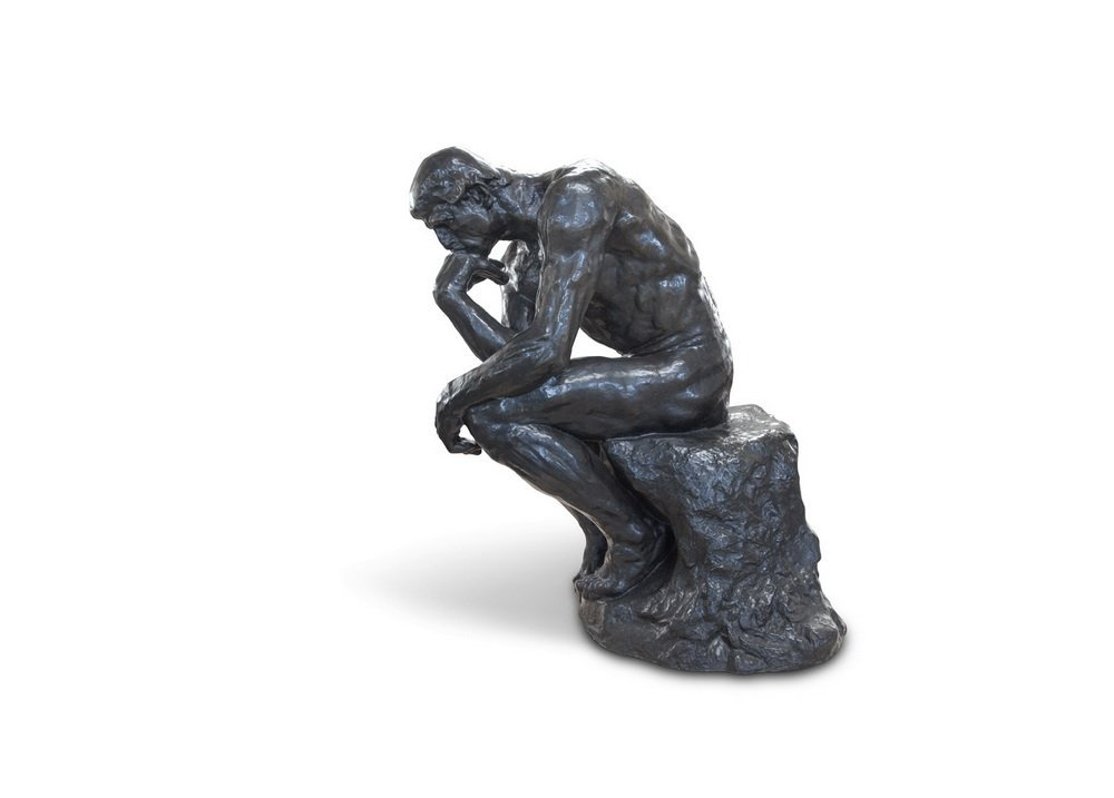 """AFTER AUGUSTE RODIN: """"LE GRAND PENSEUR [THE THINKER]"""""""